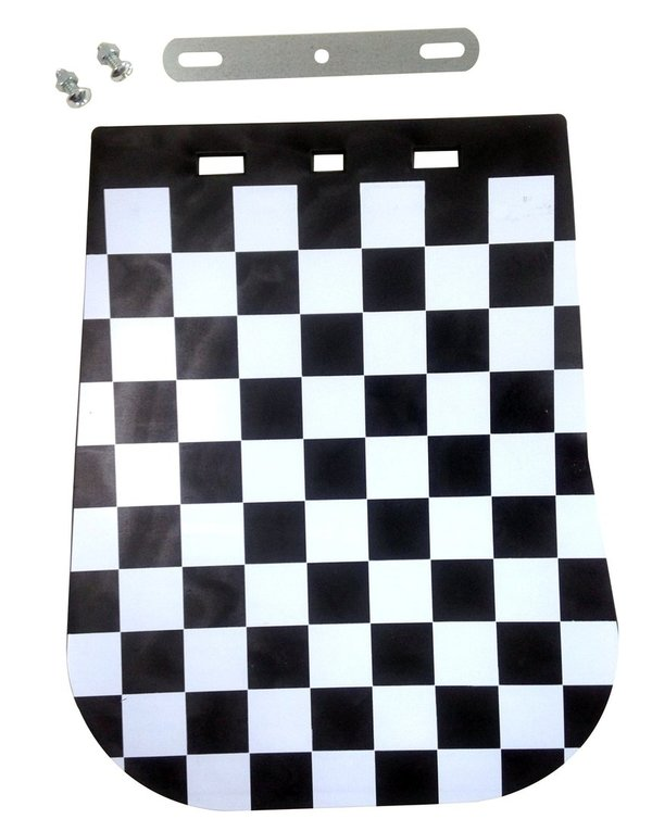 Chequered Mud Flap Universal
