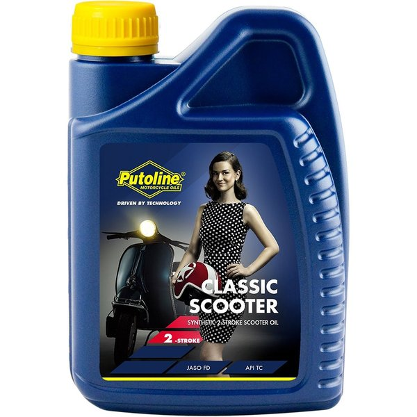 Putoline Classic Scooter 2T Oil Semi Synthetic 1L