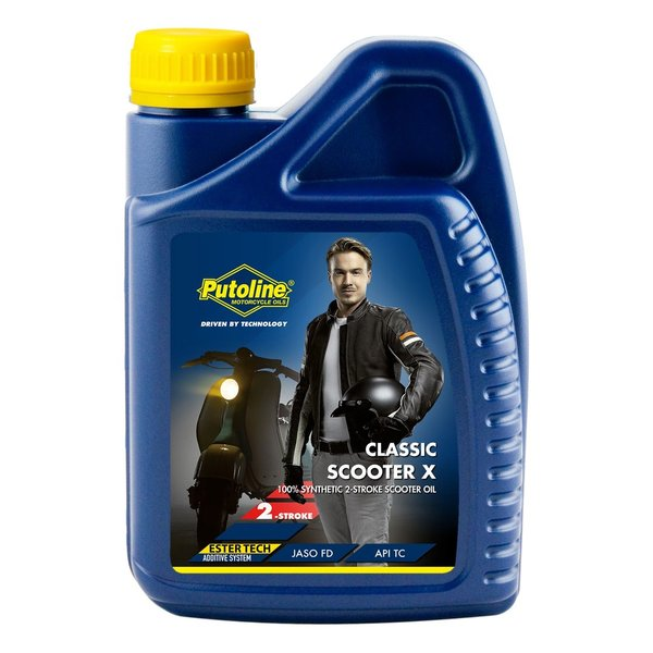 Putoline Classic Scooter - X 2T Oil Fully Synthetic 1L