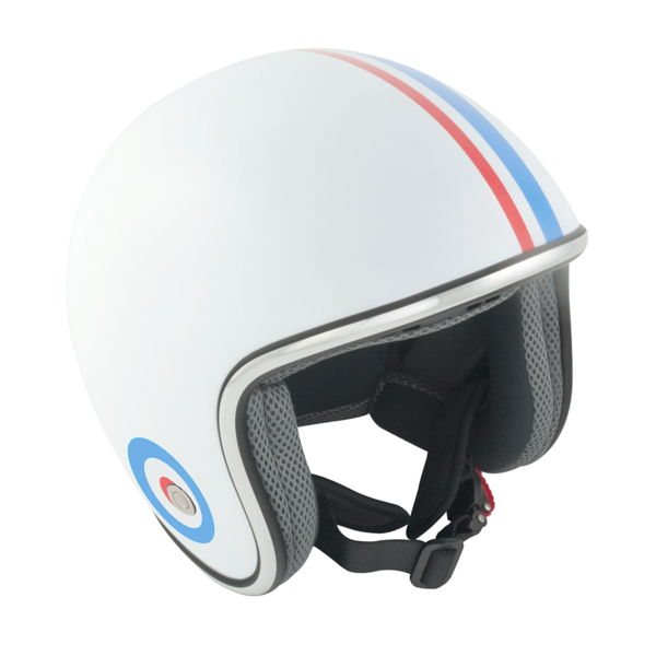 GSB Stripe And Target Open Face Helmet