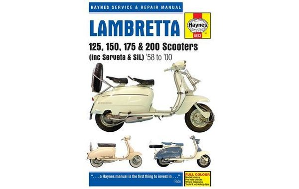 Haynes Manual Lambretta All Models