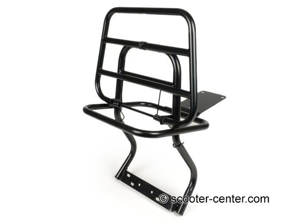 Black Rear Rack For Vespa PX/LML 2T