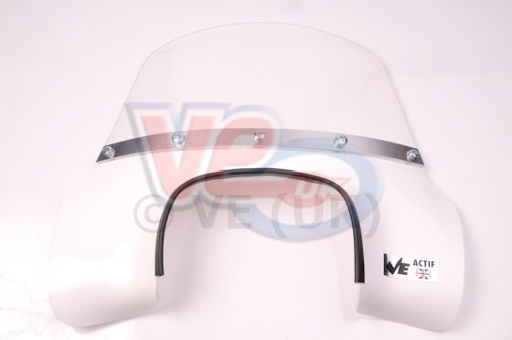 VE Actif White Flyscreen For Lambretta GP