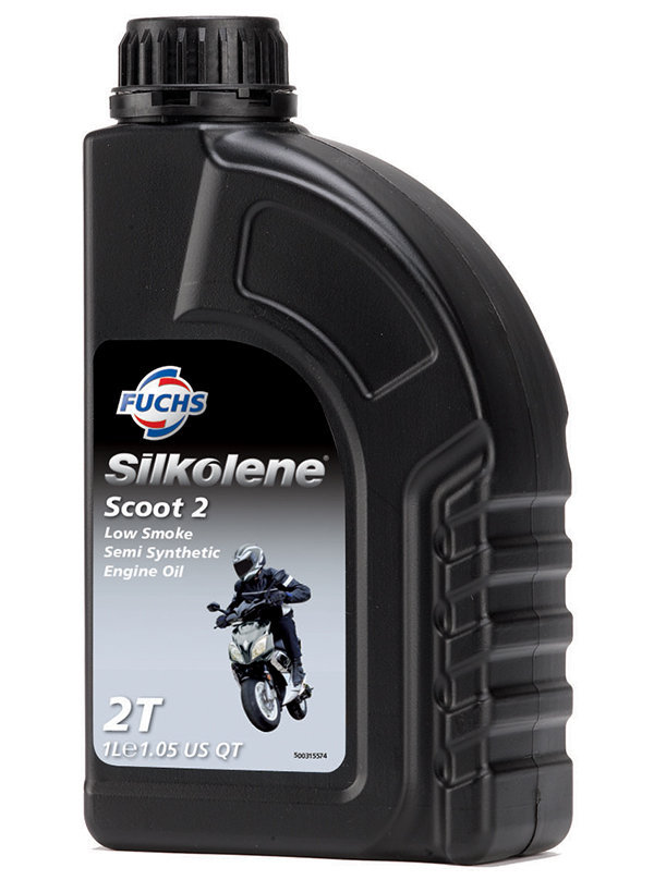 Silkolene Scoot 2 2T Oil Semi Synthetic 1L